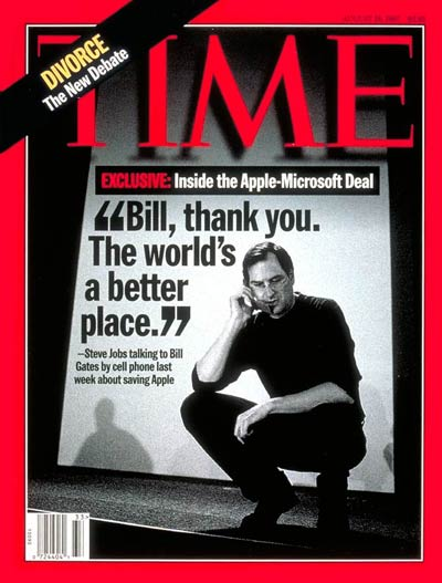 TIME Magazine Cover: Steve Jobs -- Aug. 18, 1997