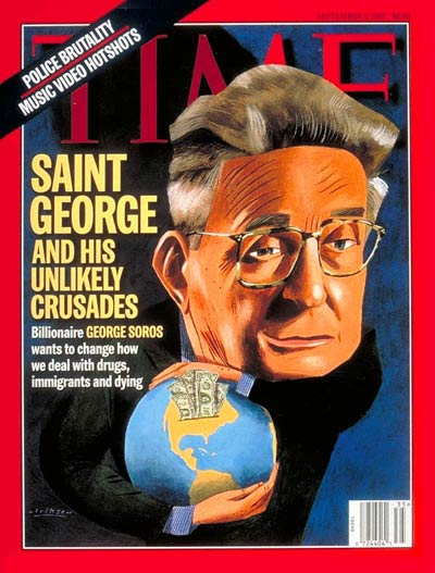 TIME Magazine Cover: George Soros -- Sep. 1, 1997