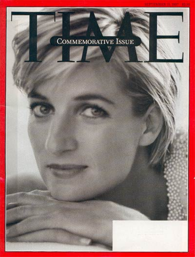 TIME Magazine Cover: Diana, Princess of Wales -- Sep. 15, 1997