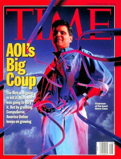 TIME Magazine Cover: Steve Case -- Sep. 22, 1997