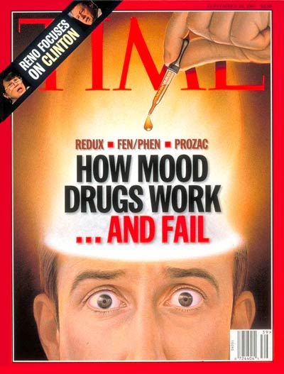 TIME Magazine Cover: How Mood Drugs Work...And Fail -- Sep. 29, 1997