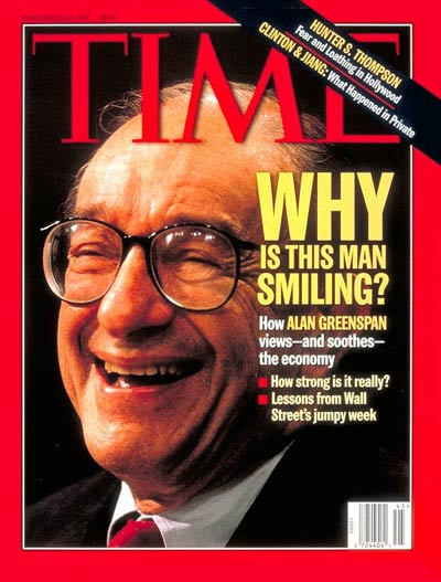 Federal Reserve Chairman, Alan Greenspan