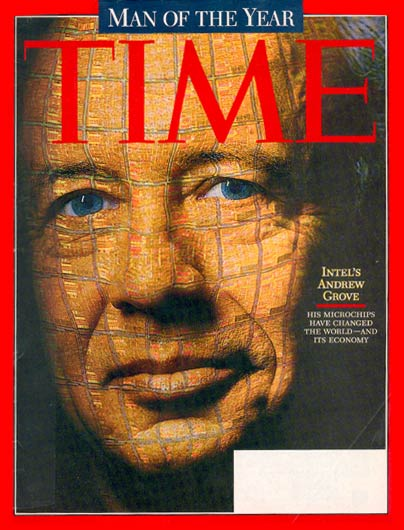TIME Magazine Cover: Andrew Grove, Man of the Year -- Dec. 29, 1997