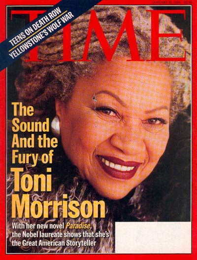 TIME Magazine Cover: Toni Morrison -- Jan. 19, 1998