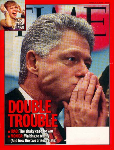 TIME Magazine Cover: Bill Clinton -- Mar. 2, 1998