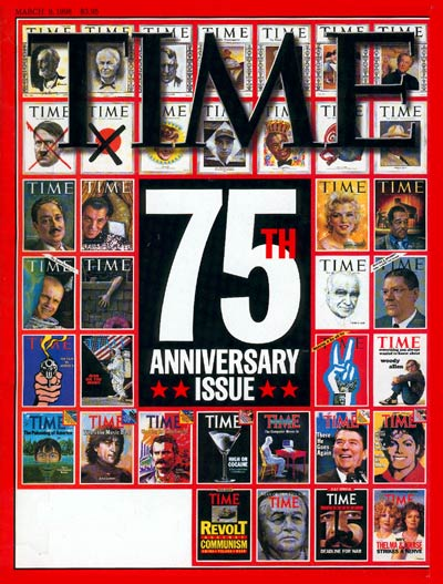 TIME Magazine Cover: TIME's 75th Anniversary -- Mar. 9, 1998