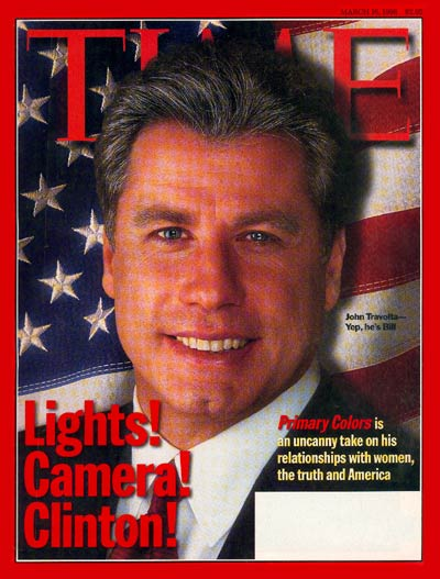 TIME Magazine Cover: John Travolta -- Mar. 16, 1998