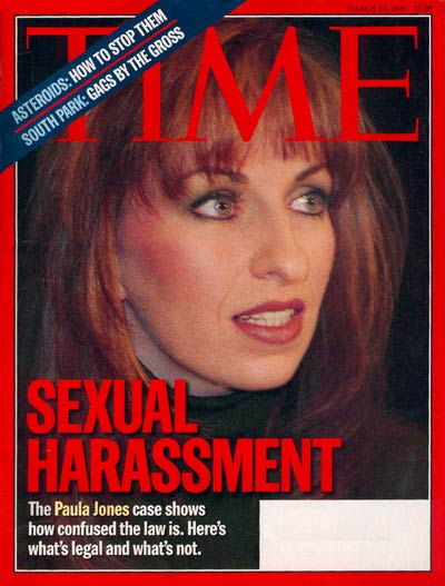 TIME Magazine Cover: Paula Jones -- Mar. 23, 1998