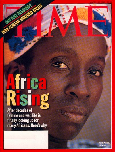 TIME Magazine Cover: Africa Rising -- Mar. 30, 1998