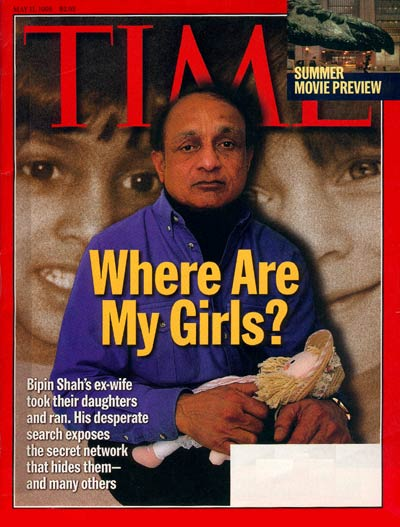 TIME Magazine Cover: Where Are My Girls? -- May 11, 1998