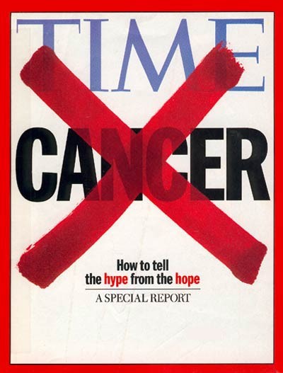 TIME Magazine Cover: Cancer -- May 18, 1998