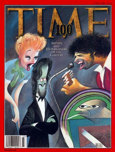 TIME Magazine Cover: TIME 100: Artists & Entertainers -- June 8, 1998