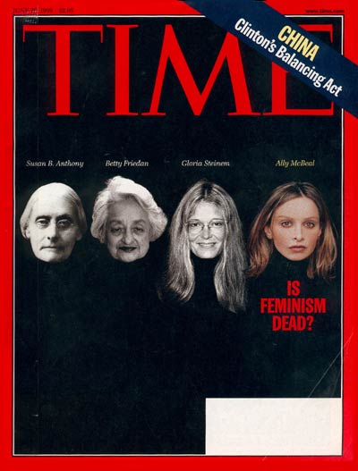 TIME Magazine Cover: Is Feminism Dead? -- June 29, 1998