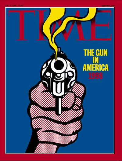 TIME Magazine Cover: The Gun in America, 1998 -- July 6, 1998