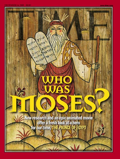 TIME Magazine Cover: Moses -- Dec. 14, 1998