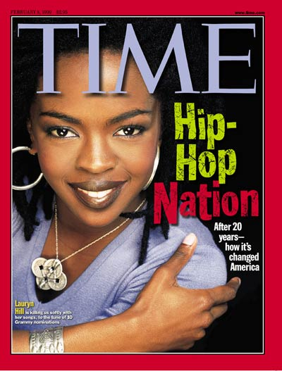 TIME Magazine Cover: Lauryn Hill -- Feb. 8, 1999