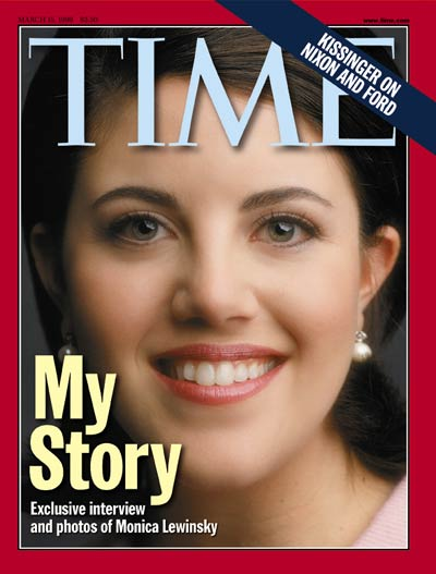 TIME Magazine Cover: Monica Lewinsky -- Mar. 15, 1999