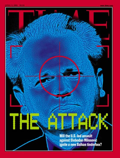 TIME Magazine Cover: Slobodan Milosevic -- Apr. 5, 1999