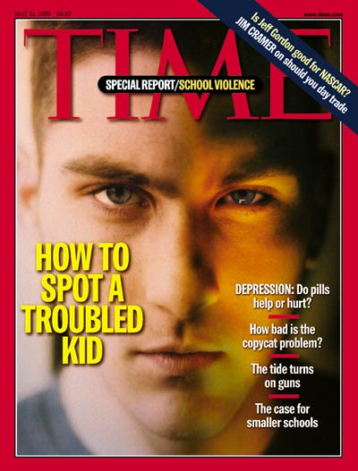 TIME Magazine Cover: How to Spot a Troubled Kid -- May 31, 1999