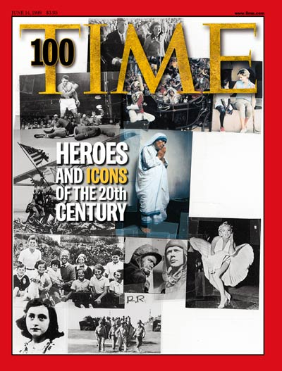 TIME Magazine Cover: TIME 100: Heroes & Icons -- June 14, 1999