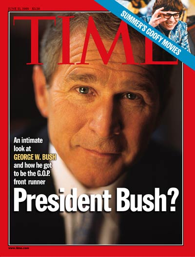 TIME Magazine Cover: George W. Bush -- June 21, 1999