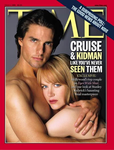 TIME Magazine Cover: Tom Cruise & Nicole Kidman -- July 5, 1999
