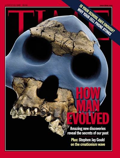TIME Magazine Cover: How Man Evolved -- Aug. 23, 1999