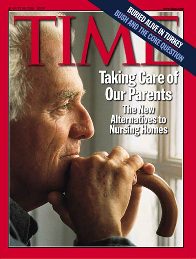 TIME Magazine Cover: Taking Care of Our Parents -- Aug. 30, 1999