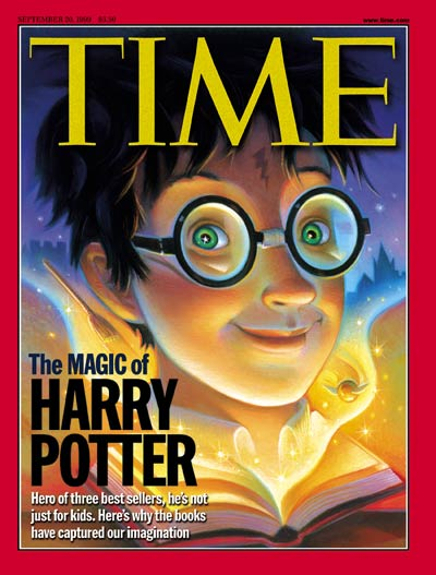 Illustration by Mary GrandPre depicting main character in the popular 'Harry Potter' book series by J.K. Rowling