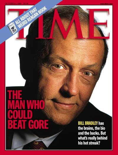 TIME Magazine Cover: Bill Bradley -- Oct. 4, 1999