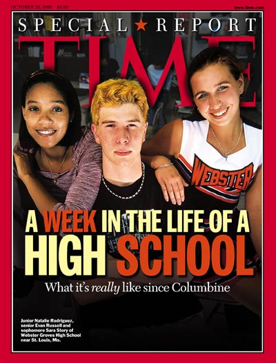 TIME Magazine Cover: Aftermath of Columbine -- Oct. 25, 1999