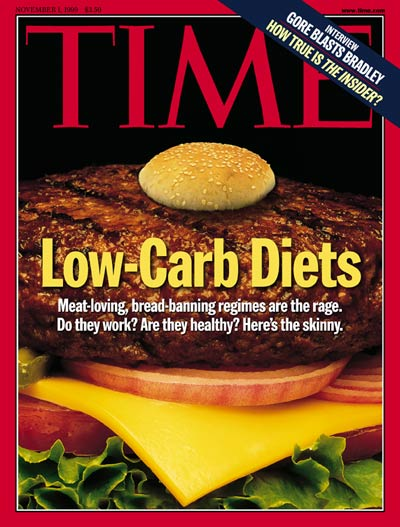 TIME Magazine Cover: Low-Carb Diets -- Nov. 1, 1999