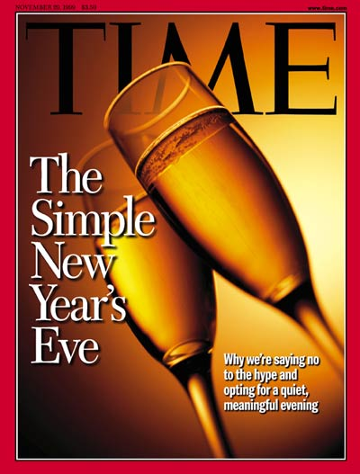 TIME Magazine Cover: Simple New Year's Eve -- Nov. 29, 1999
