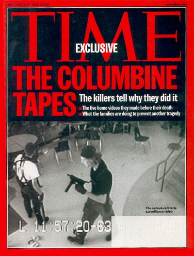 TIME Magazine Cover: Columbine Tapes -- Dec. 20, 1999