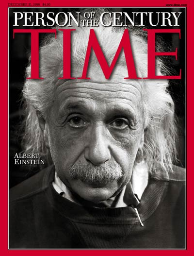 Image result for einstein man of century