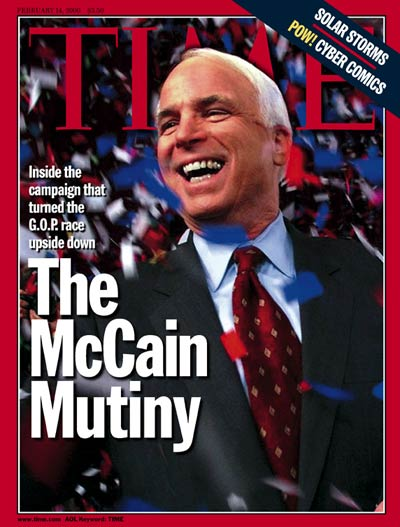TIME Magazine Cover: Senator John McCain -- Feb. 14, 2000
