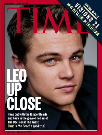 TIME Magazine Cover: Leonardo DiCaprio -- Feb. 21, 2000