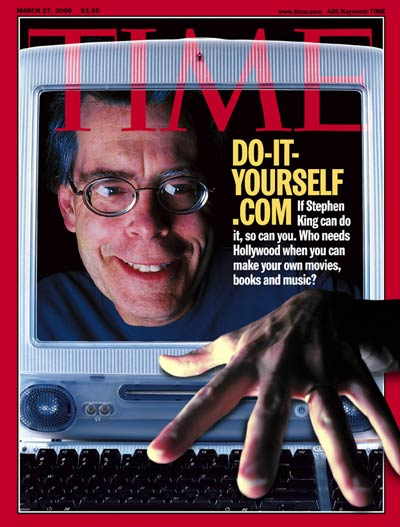 TIME Magazine Cover: Stephen King -- Mar. 27, 2000