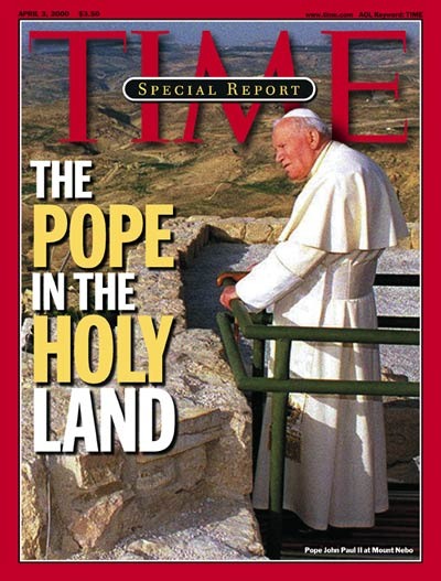 TIME Magazine Cover: Pope John Paul II -- Apr. 3, 2000