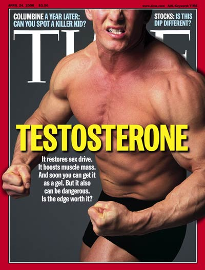 TIME Magazine Cover: Testosterone -- Apr. 24, 2000