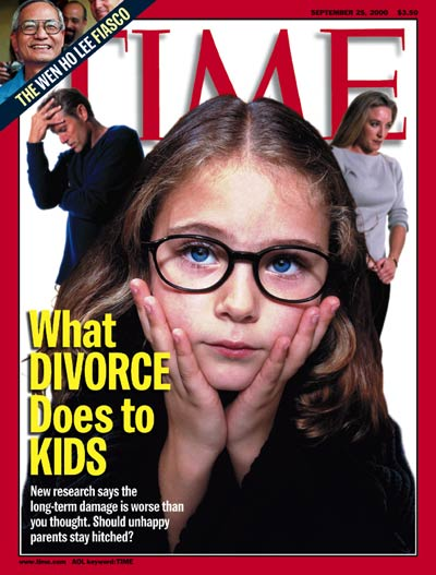 TIME Magazine Cover: What Divorce Does to Kids -- Sep. 25, 2000