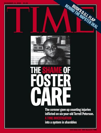 TIME Magazine Cover: Foster Care Crisis -- Nov. 13, 2000