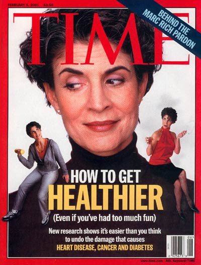 TIME Magazine Cover: Living Healthy -- Feb. 5, 2001