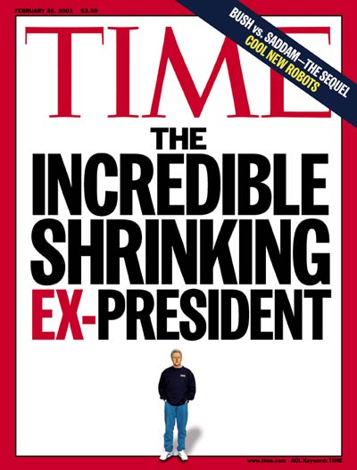 TIME Magazine Cover: Bill Clinton -- Feb. 26, 2001