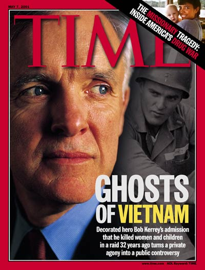 TIME Magazine Cover: Bob Kerrey -- May 7, 2001