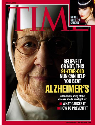 TIME Magazine Cover: Alzheimer's Disease -- May 14, 2001