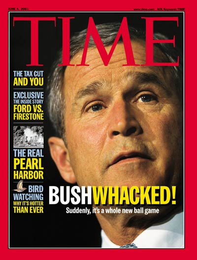 TIME Magazine Cover: George W. Bush -- June 4, 2001