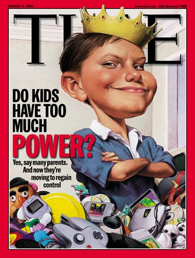 TIME Magazine Cover: Modern-Day Children -- Aug. 6, 2001