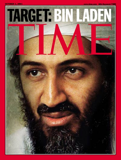 TIME Magazine Cover: Osama bin Laden -- Oct. 1, 2001