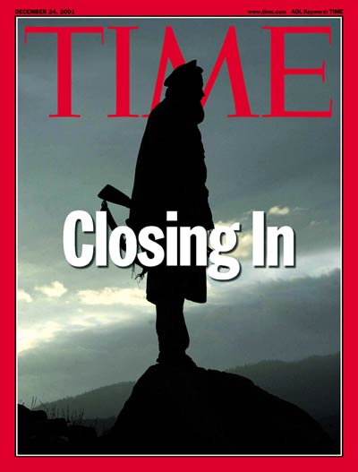 TIME Magazine Cover: Closing In -- Dec. 24, 2001